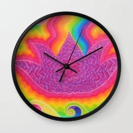 Breathing Crown Wall Clock