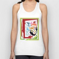 how to train your dragon Tank Tops featuring How to Train Your Dragon by Kathryn Hudson Illustrations