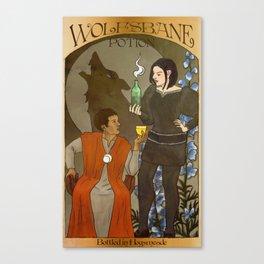 Wolfsbane Potion Poster Canvas Print