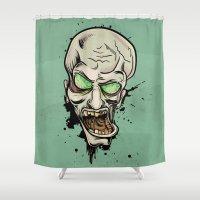 scream Shower Curtains featuring Scream by Keyspice