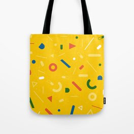 Almost Friday - pattern yellow Tote Bag