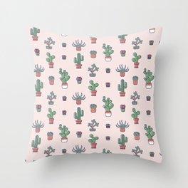 I Love Succulents Throw Pillow