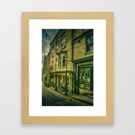 Rainy Day in the Bay Framed Art Print