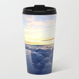 Sunrise Above the Clouds Travel Mug