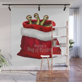 Santa's Bag of Holding Wall Mural