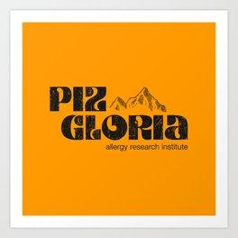 Piz Gloria – allergy research institute Art Print