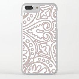 Dulce Sand Clear iPhone Case