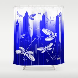 CN DRAGONFLY 1017 Shower Curtain