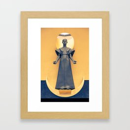 Our Lady of the Angels Framed Art Print