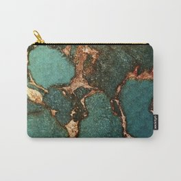 EMERALD AND GOLD Carry-All Pouch