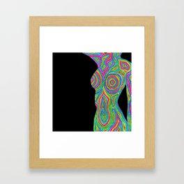 Psychedelic Lil Bod Framed Art Print