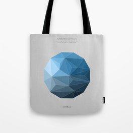 Continuum grey Tote Bag