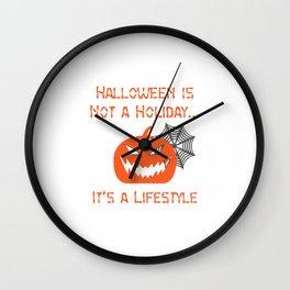 Happy Halloween ! Wall Clock