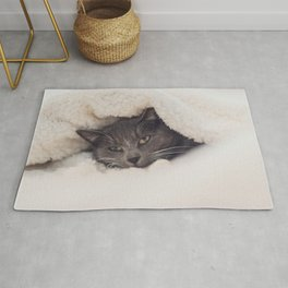 Cat by Dimitri Houtteman Rug