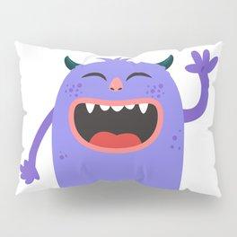 Hello Monster Pillow Sham