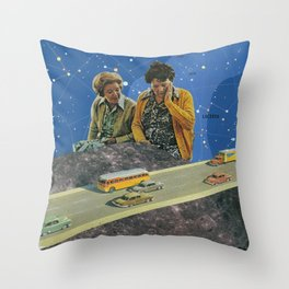 I Liked the Moon Better Before it Got All Touristey Throw Pillow