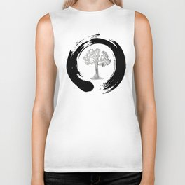 Yggdrasil Norse Cosmology Ash Tree Of Life Good Evil Eternity Zen Biker Tank