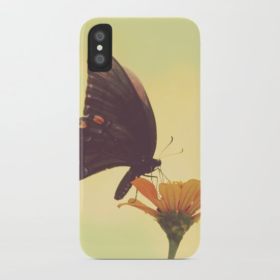 Shadow Dancing on the Wind iPhone Case