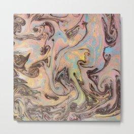 Marble Mirage Metal Print