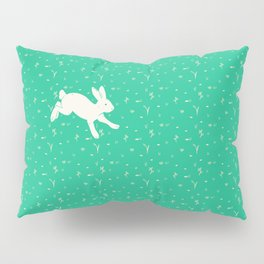 Running Bunny Pillow Sham