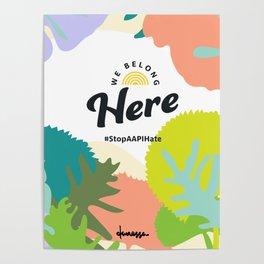 We Belong Here Poster