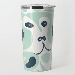 baboon shrug Travel Mug