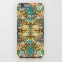 Enhanced Photography Christmas Lights iPhone Case