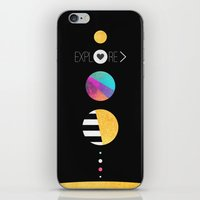 explore iPhone & iPod Skins featuring Explore by Elisabeth Fredriksson