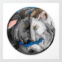 Chinese zodiac : Incompatible III Art Print