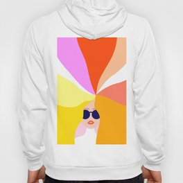 Girl Power - Rainbow Hair #girlpower Hoody