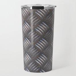 Hard steel pattern Travel Mug