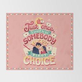 First Choice Throw Blanket