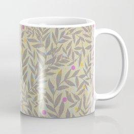 Candy Tale pattern in blue Coffee Mug