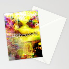 #shreked Stationery Cards