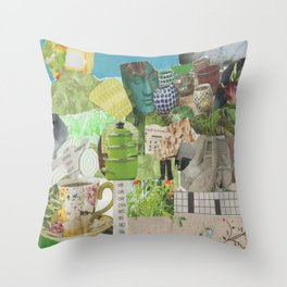 Shepherd and Flock 2 Throw Pillow