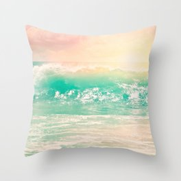 SoCal Pastel Throw Pillow