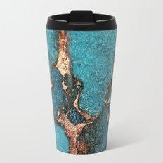 AQUA & GOLD GEMSTONE Travel Mug