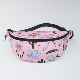 Desert Crystals Theme Fanny Pack