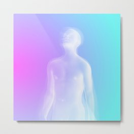 Fade Away and Radiate Metal Print