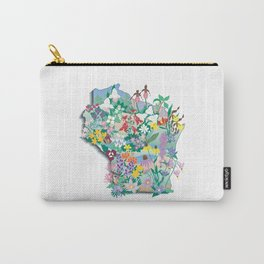 Wisconsin Wildflowers Carry-All Pouch