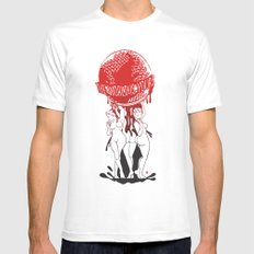 TWIY (TheWorldIsYours)  White MEDIUM Mens Fitted Tee
