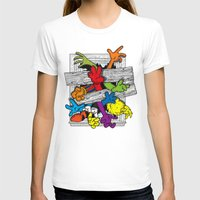 cartoons T-shirts featuring Cartoons Attack by luis pippi