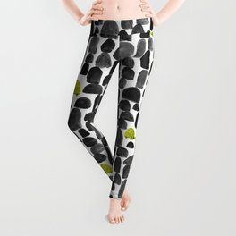 Turtle in Stone Garden Leggings