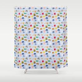 Gilmore Girls World Shower Curtain