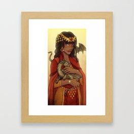 Hazan- Autumn Framed Art Print