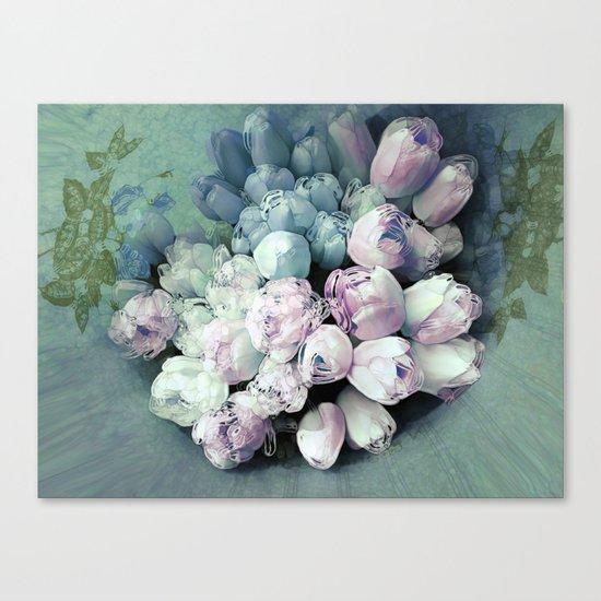 Tulips Antique Canvas Print