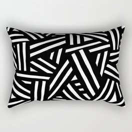 Monochrome 01 Rectangular Pillow