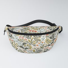 Month of May ~ white Fanny Pack