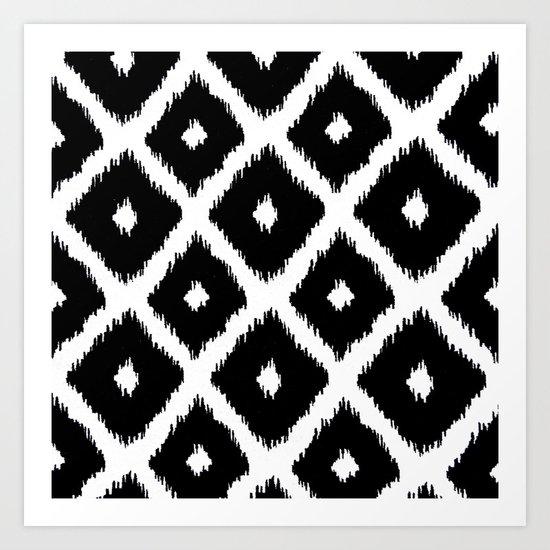 Black and White decor Art Print