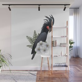 Black Palm Cockatoo Wall Mural